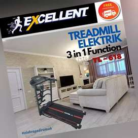 treadmill elektrik TL-618 G-39 alat olahraga lari