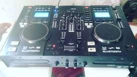 DJ pitch mixture