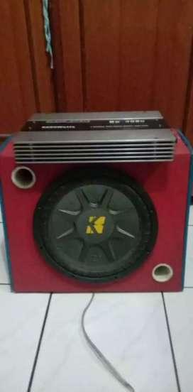 Subwofer 6000 wat da speaker kicker 12 inch