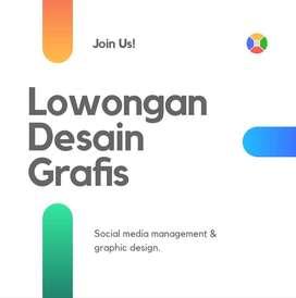 Lowongan desain grafis social media management sosial media design.