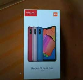 Redmi Note 6 Pro good condition all accessories available urgent sale