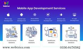Mobile application development services | Build an app with us