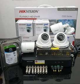 Paket Laris CCTV Hikvision 2 Megapixel Promo Murah