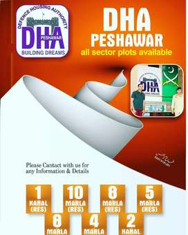 DHA Peshawar 4 Marla New Ballot installment file available