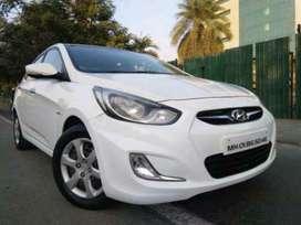 Hyundai Verna Fluidic 1.4 CRDi EX, 2013, Petrol
