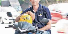 "Vijayawada Rapido ""Hiring for food and bike taxi riders"""""