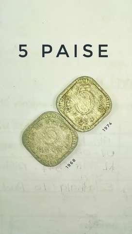 Old rare coin collection