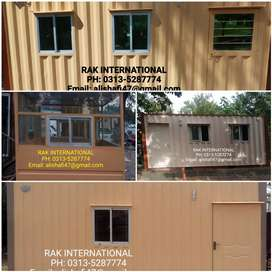 Office container porta cabin security guard room mobile toilet prefab