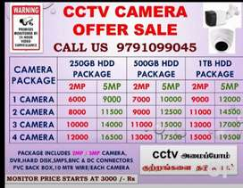 CCTV CAMERA WHOLE SALE PRICE OFFER