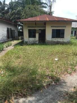 Dijual tanah ukuran 11x40 semi bangunan