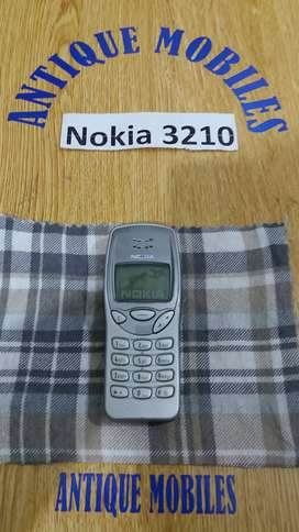 Nokia 3210 Antique old is gold Vintage For collector