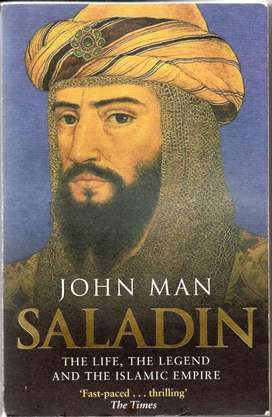 Buku Impor Inggris: Saladin The Life, Legend and The Islamic Empire