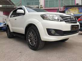 Fortuner 2.7 V A/T 4x4 pemakaian 2014