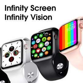 W26 Smart Watch 1.75 inch infinity display screen Full Touch Screen