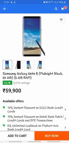 Samsung Note 8 Excellent Condition fone