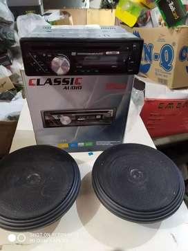 Tape singledisc DVD USB +speaker