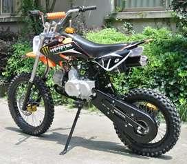 Different colour 125cc Motocross Dirt Bike