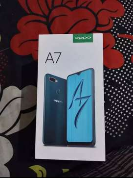 Oppo A7 (4/64)brand New Condition (only 6months old)