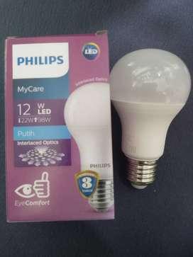 Lampu LED Bulb 12 watt Philip