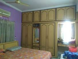 3bhk flat 1225 sft East 2nd floor Dubaigate 11yrs,46 lacs