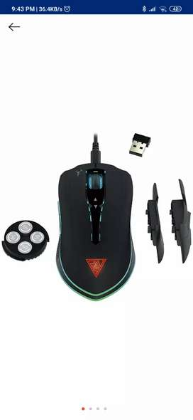 GAMDIAS Hades M1 Optical Gaming Wired/Wireless mouse