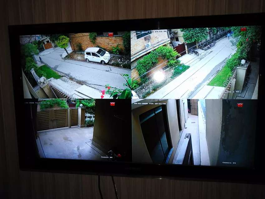 CCTV 2MP  Hikvision / Dahua  HD security system with Installation 0