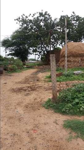 Main Road plot of 50 ankanams rent on main road Dhana lakshmi puram.