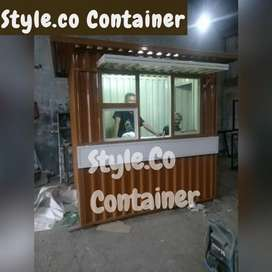 BOOTH CONTAINER CAFE | CONTAINER USAHA KEDAI | CONTAINER CAFE KEDAI