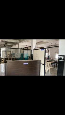 2000 sq feet space for rent