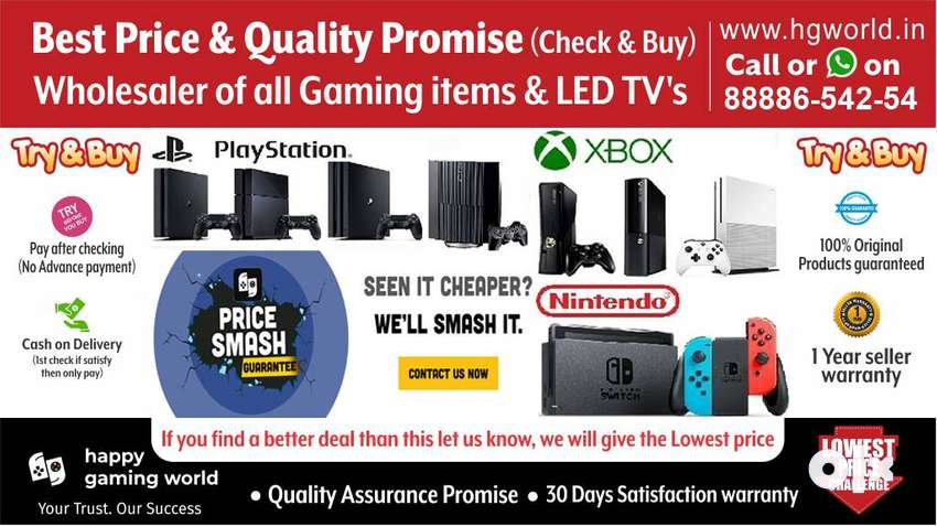 Wholesale Ps4,Ps3,Ps2,Xbox1x/s/360Switch,Vr All Gaming Items Best Deal 0