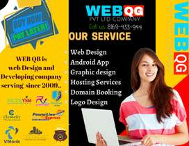 Website/Mobile App/ Hosting/ web designer/logo/ digital marketing