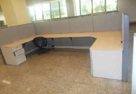 Ready to move, furnished 550 sqft office in Rs 94/sqft on lease