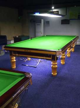 New Snooker Tables Star