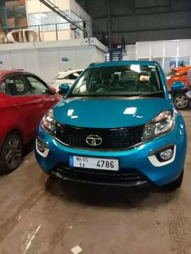 Tata Nexon blue colour vip number XZPLUS TOP MODEL