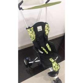 Stroller isport hijau