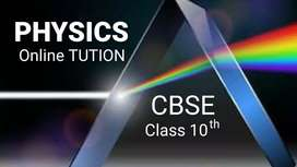 Online Physics Tution for 10th start for free