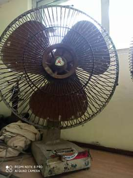 Table fans for sale 2 nos