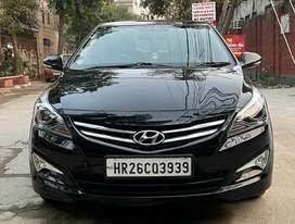 Hyundai Verna VTVT 1.6 AT SX Plus, 2015, Petrol