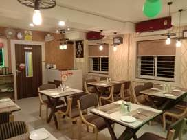 2 years furnished running Restaurant.