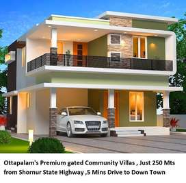 5 minutes' drive from Town - 4 BHK Villas for Sale in Ottapalam