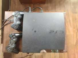 PS3 with free 6 cds