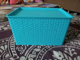 Dmart big storage baskets with lids