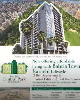 Bahria Central Park Apartment Karachi