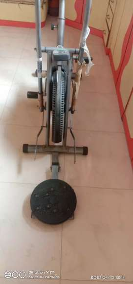 Excersize cycle in new condition