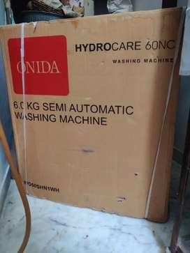 Onida hydrocare semi automatic washing machine