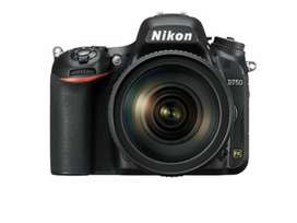 Nikon D750 with 24-120 f4 lens brand new.1½months old 3k Sutter count