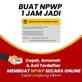 Jasa pembuatan npwp dan legalitas usaha