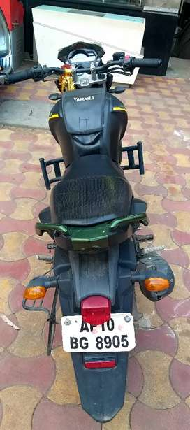Yamaha FZS military adition