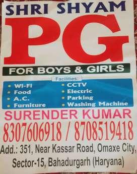 Shree shyam p. G..351 no omaxe city near kasar road
