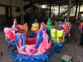 odong kereta panggung ikan nemo kesukaan anak usaha kekinian